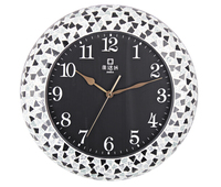 Korean fashion art creative diamond clock JHF13-102F European style living room wall clock special zx