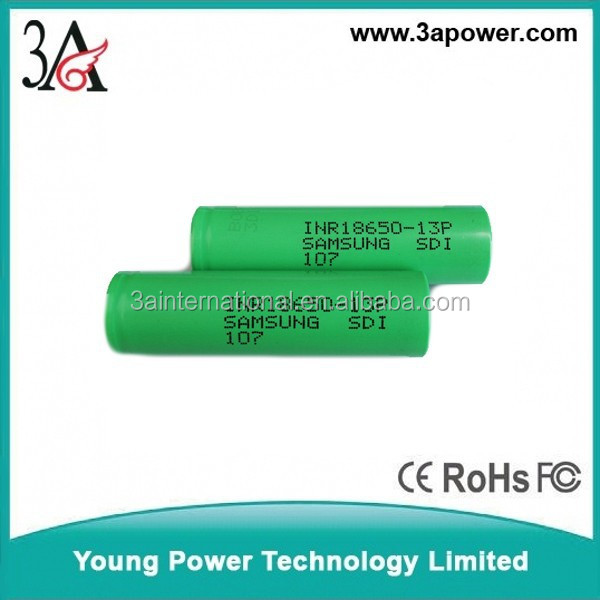 samsung INR18650-13P 1300mah 3.6v 10A 18650 high discharge rate battery cells for e-cig