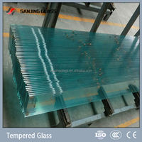 12mm balcony glass panels