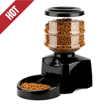 Wholesale Black Dog Cat LCD Display Perfect Dinner Automatic Pet Feeder