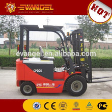 Heli/YTO/Dalian brand new 1.5-2t electric forklift with good service
