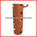 Novelty handmade outdoor terracotta tall rail planter