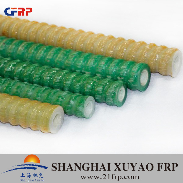 FRP resin anti-static self drilling hollow anchor bolt