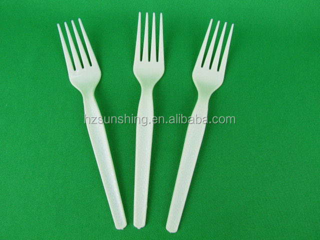 Factory directly supply decorative plastic fork in buck