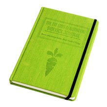 Personalized a5 hard cover embossed cloth and leather daily planner notebook printing