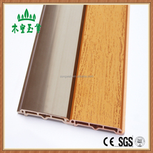 Cheapest wood plastic composite material pvc wood plastic exterior wall cladding