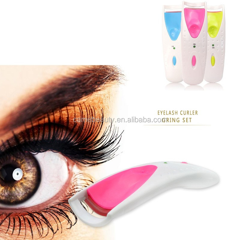Portable Eyelash Extension Flue Heated Eyelash Curler