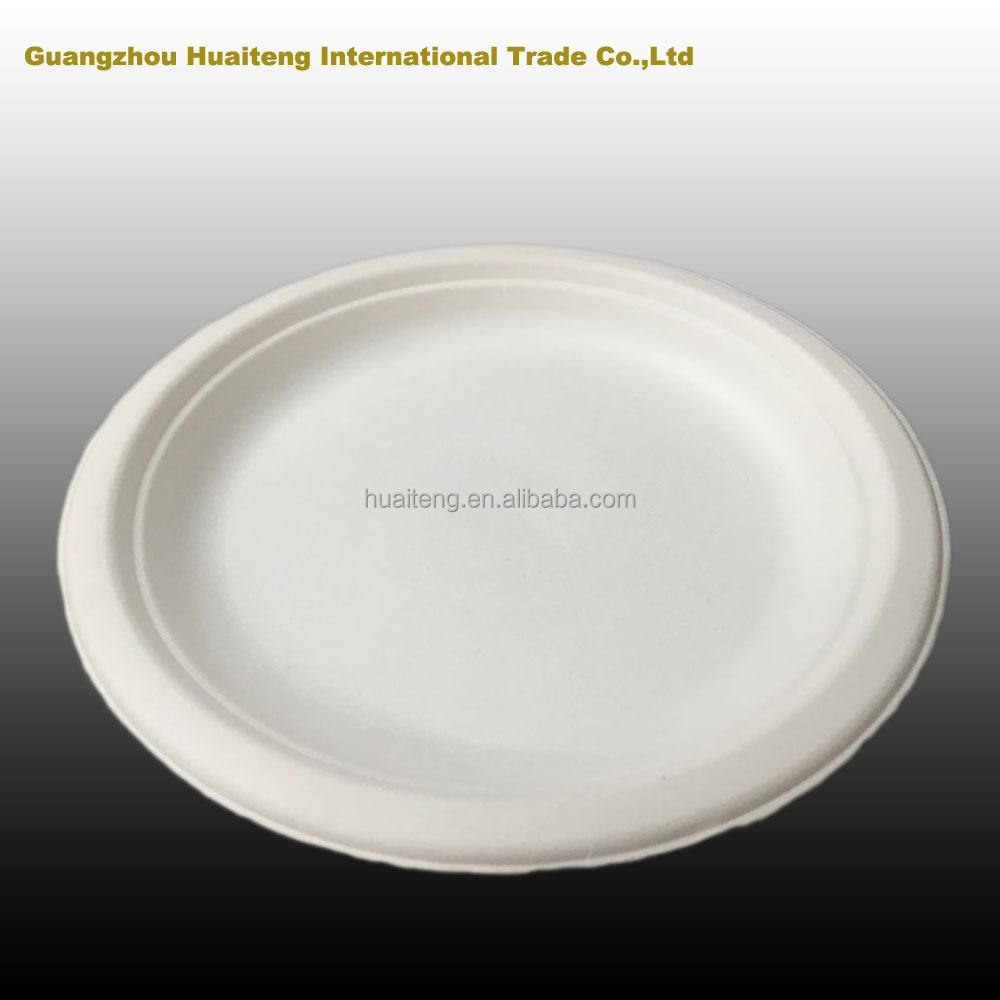 "Disposable Plastic Plate/ PS Plastic plates/7""/8""/9"" 6g to 20g with many colors"