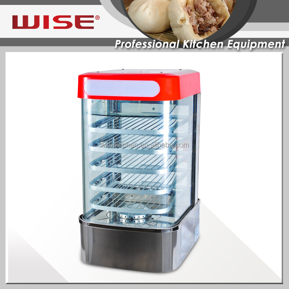 Commercial Electric Food Steamer Display for restaurant