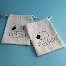 Manufacturer Small Cloth Drawstring Bag For Promotional