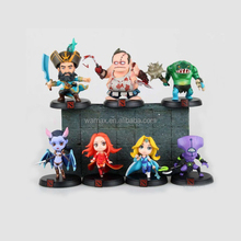 hot game plastic PVC cartoon model toys dota 2 miniature action figure Customize 1/18 collection OEM ODM Q edition style