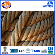 3 strand twisted manila rope/abaca rope 16mm cheap