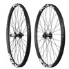 ICAN logo Clincher Tubeless Ready carbon mountain bike wheels, oem carbon wheel bicycle wheels