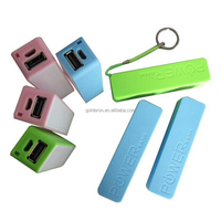 hot selling portable perfume power bank 2600mah with USB charger for smartphone/mp3/mp4