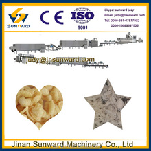 New condition stainless steel snack food extruder, puffed rice machine prices