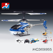 3.5 channel alloy toy rc helicopter model with gyro and light HC369955
