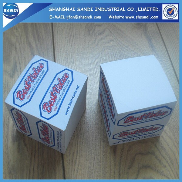 Promotional custom sticky note pad with logo