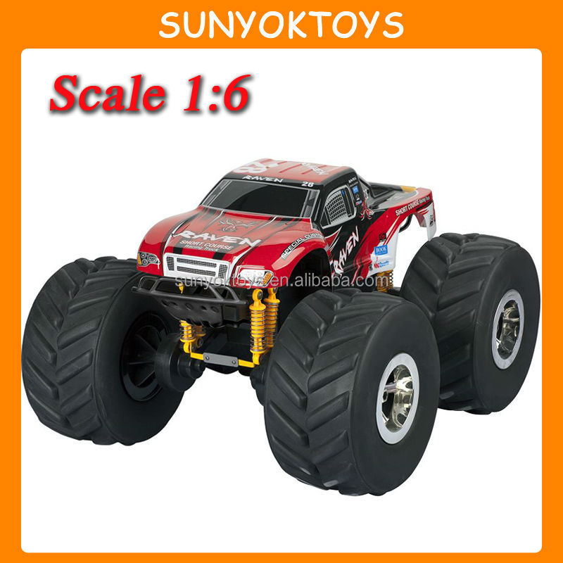 New Design! 4WD 1:6 Scale Big Foot Car , 1 6 scale rc cars