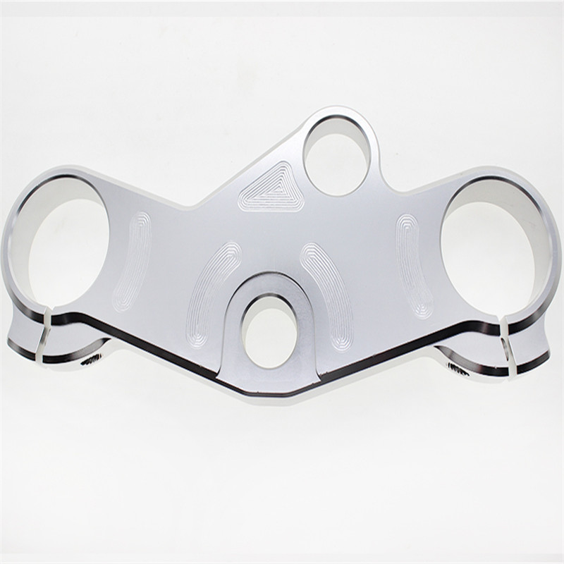 CNC aluminum alloy billet motorcycle Lowering Triple Tree Front End Upper Top Clamp for top sale