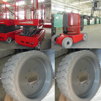 high quality genie scissor lift trucks 22x7x173/4 15x5 12x4.5 10x3 tires for sale