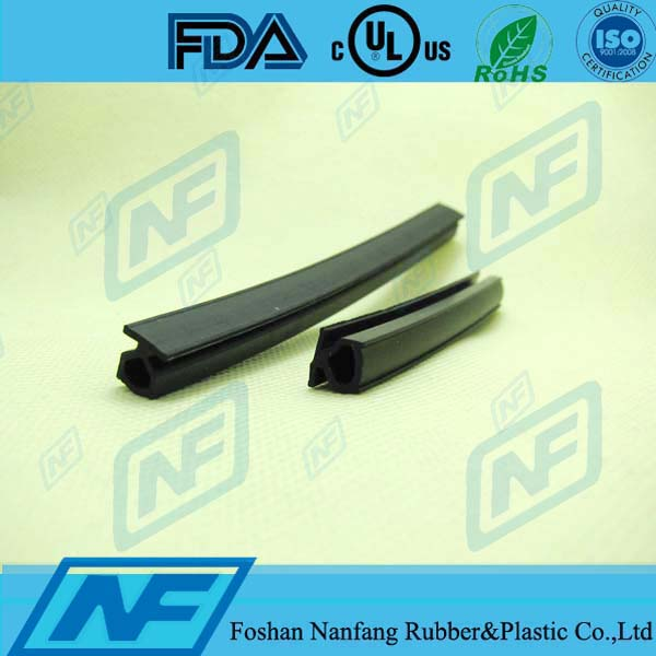 Acid resistance door rubber hinge strip