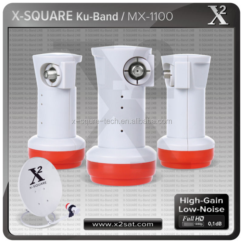 Satellite Ku Band twin universal LNB