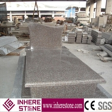 Cheapest g664 granite stone tomb design