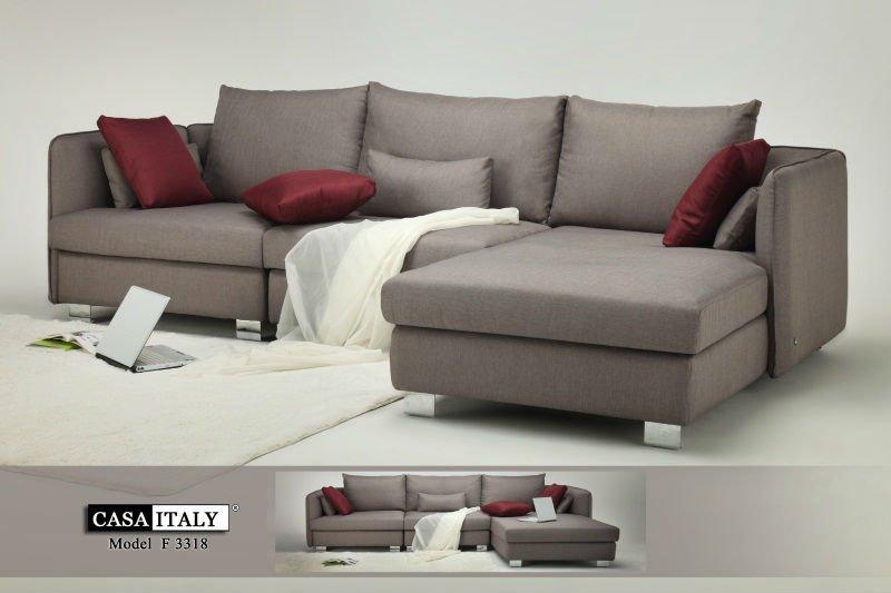 leather l shape sofa - Wohnzimmer Sofa
