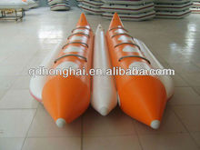 Double Tubes banana boat rigid inflatable boats for sale