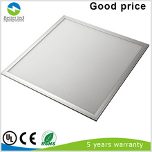 high quality dimmable 600x600 ultra thin 40w UL listed led Panel lighting