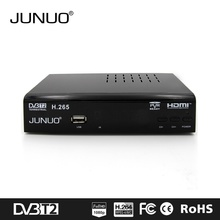 Set top box factory JUNUO dvb t2 dvb s2 combo