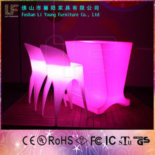 RGB color changing LED straight bar counter night club led bar counter