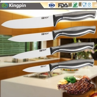 Top quality stone zirconia ceramic kitchen knife set stainless steel handle leading factory