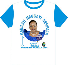 zambia uganda president MP senator T shirt Africa campaign with photo printing