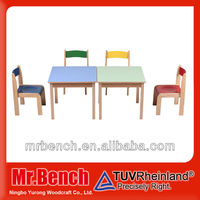 Kids furniture wholesale, high quality child study table and chair set