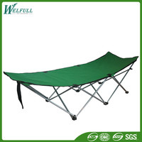 Hot Sell Metal Folding Adjustable Camping Bed