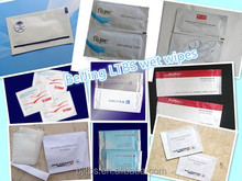 Airlines refreshing wet wipes/tissue/towel /napkins
