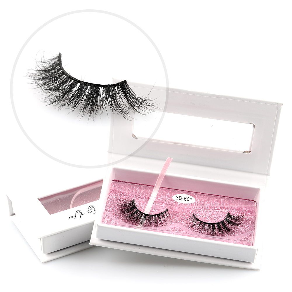 SP lashes strip cruelty free 3d mink lashes and custom package
