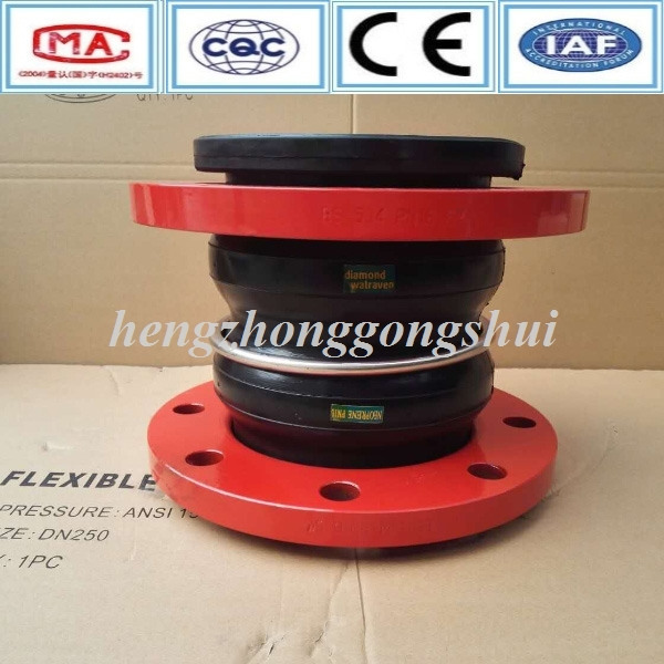 ISO Certificate a105 flange adjustable flange rubber expansion joint china supplier