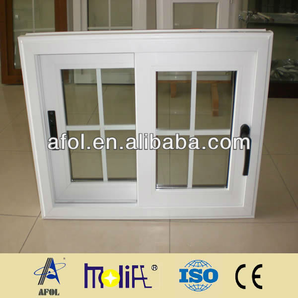 Zhejiang AFOL PVC windows,PVC profile sliding windows and doors,new window grille design
