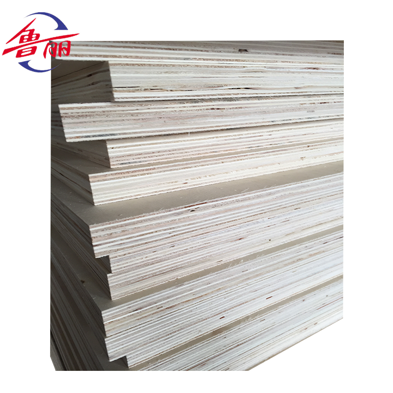 5*10 brich core oak faced plywood