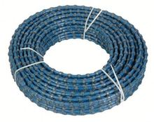 10.5mm Bead Diamond Wire Saw For Marble Block Squaring Diamond Cutting Wire Saw For Granite Block Squaring