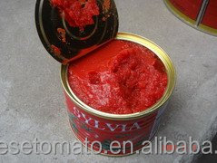 Pastry Sauce Type Canned Tomato Paste Brix 22-24%