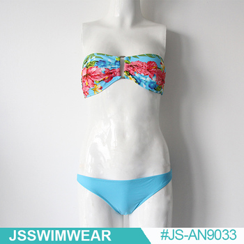 women flowers sexy swimwear
