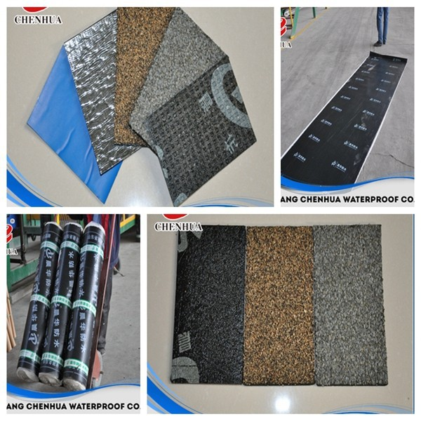 China low cost industry material torch on SBS bitumen waterproof roof sheet