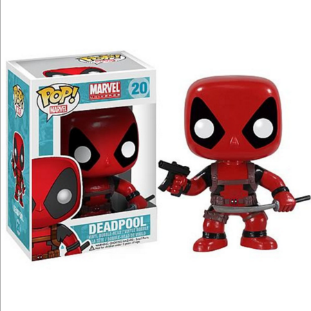 Funko POP Deadpool Action Figure Funko POP Deadpool Anime PVC Figure NO.20