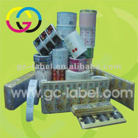 Low price self adhesive daily label sticker self-adhesive stickers and labels