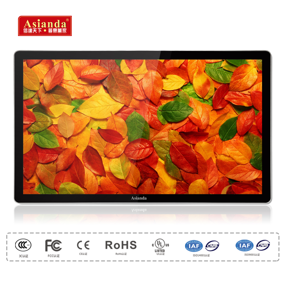 "19""- 22"" small size bus usb lcd advertising player, lcd monitor usb media player for advertising"