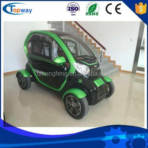 Wiper/radio/adjust seat Electric Mobility 4 Wheel 2 seats tricycle vehicle