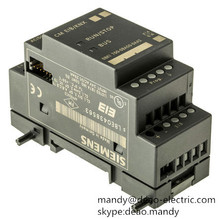 siemens LOGO! CMK2000 communication module 6BK1700-0BA20-0AA0 8 IN THE BUILDING BUS KNX POWER SUPPLY DC 24V